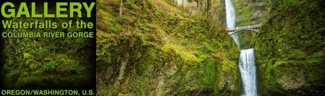 Columbia River Waterfalls -- Banner