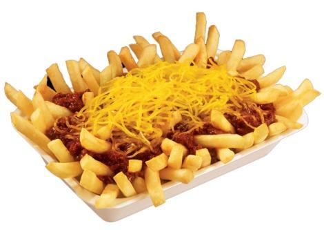 Krystal Chili Cheese Fries