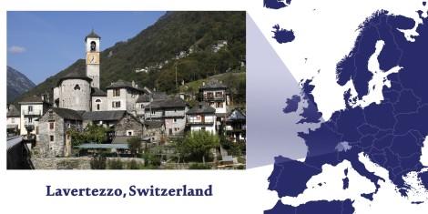 Lavertezzo -- Map