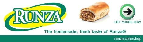 Runza Website Banner