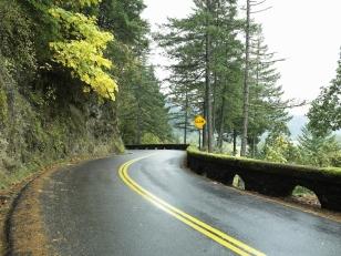 Road in non-urban setting