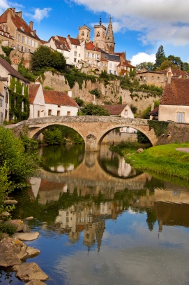 Semur-en-Auxois in Burgundy France