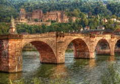 HDR of Heidelberg in germany