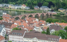 Heidelberg Town Germany - Stock Photo