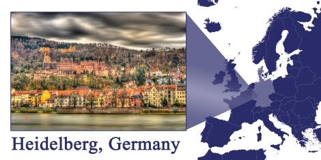 Heidelberg -- Map