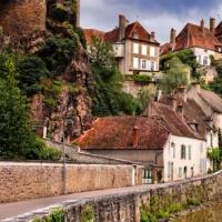 The Medieval Town of Semur en Auxois, France