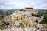 View of Ragusa Ibla in Sicily, Italy