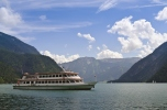 Ferry on lake Achensee in Tirol, Austria