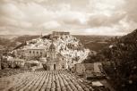 Ragusa Ibla, Sicily - monochrome