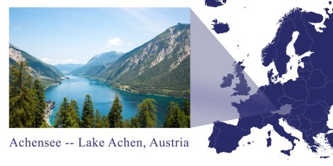 Achensee -- Map