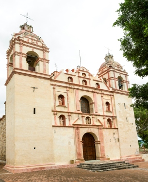 The Temple and ex Convent of San Jeronimo, Tlacochahuaya, Oaxaca