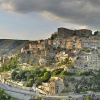 The City of Ragusa in Sicily, Italy