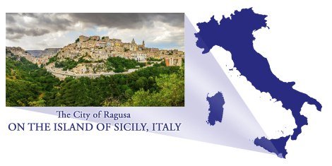 Ragusa -- Map