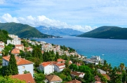 View of Herceg Novi and the Bay, Montenegro