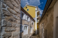Narrow streets of Herceg Novi old town