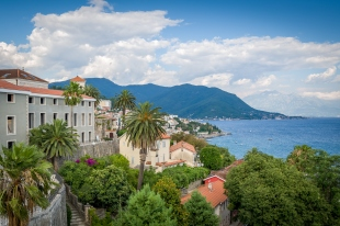 Herceg Novi and The Bay of Kotor landscape