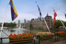 Binnenhof Palace, Dutch Parlament in the Hague, Netherlands