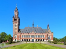 The Peace Palace in The Hague, Netherlands