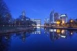 The Hague at night