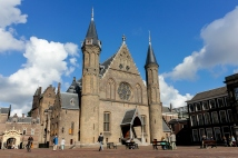 Ridderzaal on the Binnenhof plaza
