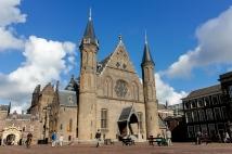 Ridderzaal on the Binnenhof plaza