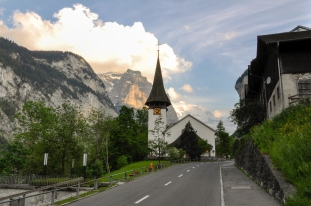 Lauterbrunnen Town Church