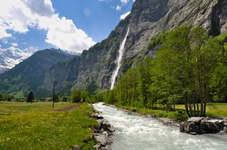 Lauterbrunnen Valley Stream