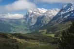 View from Kleine Scheidegg at Grindelwald (Berner Oberland, Switzerland)