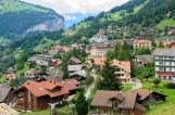 Village of Wengen, Switzerland
