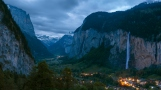 Stunning landscape in Swiss